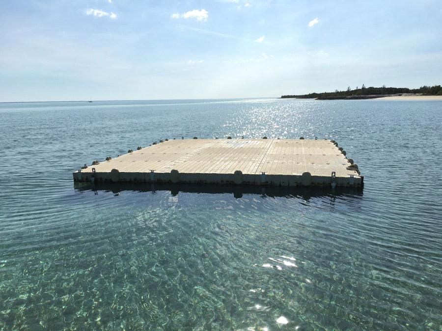 Floating Seaplane Dock